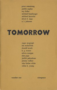 Tomorrow, edited by Ian Hamilton